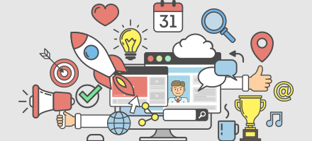 Mise en oeuvre d'un plan d'action marketing digital