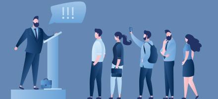 S'exprimer avec efficacité, en face à face et en public
